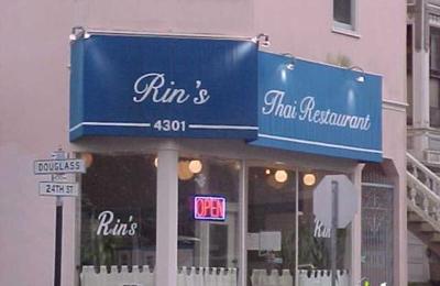 Rin's Thai Restaurant - San Francisco, CA