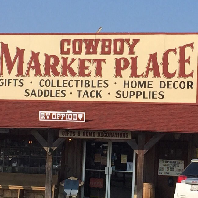 Cowboy Marketplace Amp 377 Rv Park Campgrounds 4170 E Us