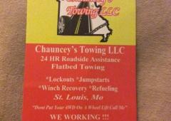 Chauncey Towing LLC - Saint Louis, MO