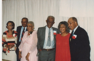 Six of the 13 children of David and Sallie Mae (Williams) of Saluda, SC