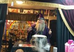 Magic Fun House - Rowlett, TX. Wizard Wayne's Famous Cauldron Punch