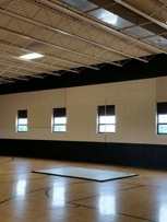 We painted this Gymnasium.