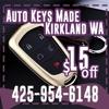 Auto Keys Made Kirkland WA