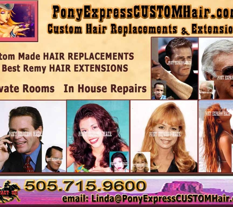 PonyExpressCustomHair.com - Albuquerque, NM
