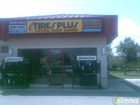 Tires Plus 8801 New Tampa Blvd Tampa Fl 33647 Yp Com