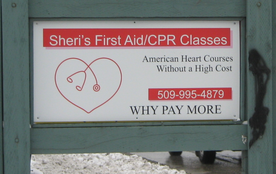 Sheris First Aid Cpr Classes 12308 E Broadway Ave Ste 5 Spokane