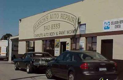 Hanson's Auto Body - Burlingame, CA