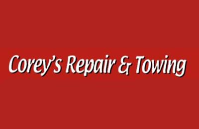 Corey's Repair & Towing - Ridgeland, WI. Towing Services