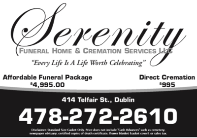 Serenity Funeral Home & Cremation Services 414 Telfair St