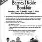 Barnes & Noble Booksellers - Citrus Heights, CA. Supporting Del Campo again!!
