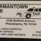 Germantown Cab Co Inc - Philadelphia, PA