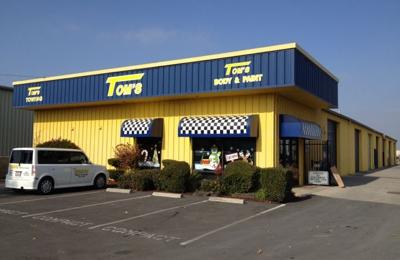 Tom's Body & Paint Inc  2000 E Mineral King Ave, Visalia, CA 93292