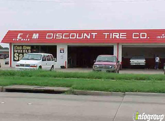 C & M Discount Tires - Garland, TX