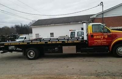Andy's Wrecker Service - Tuscumbia, AL