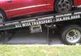 All Wise Transport - Saint Louis, MO. My car being towed
