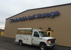 Accurate Electrical Contractors - Naugatuck, CT. Wiring for outside sign on a time clock. Self storage facility.