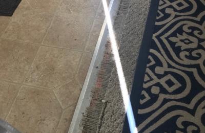 Coles Hardwood and Carpet Repair - Birmingham, AL. Before repair.