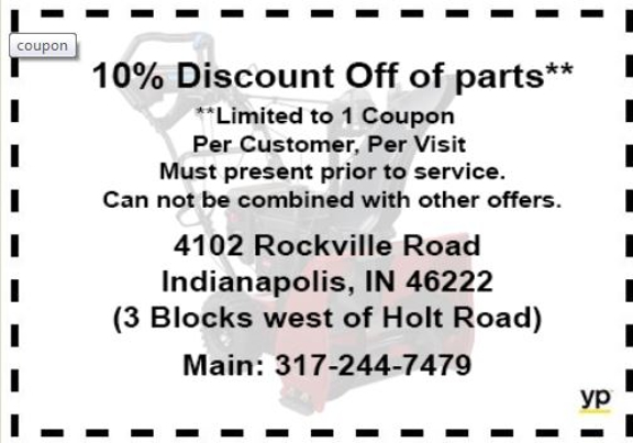 Brent's Lawn Mower Sales & Service - Indianapolis, IN