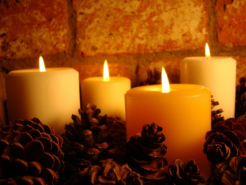 Burning candles are a fall favorite but require some caution.
