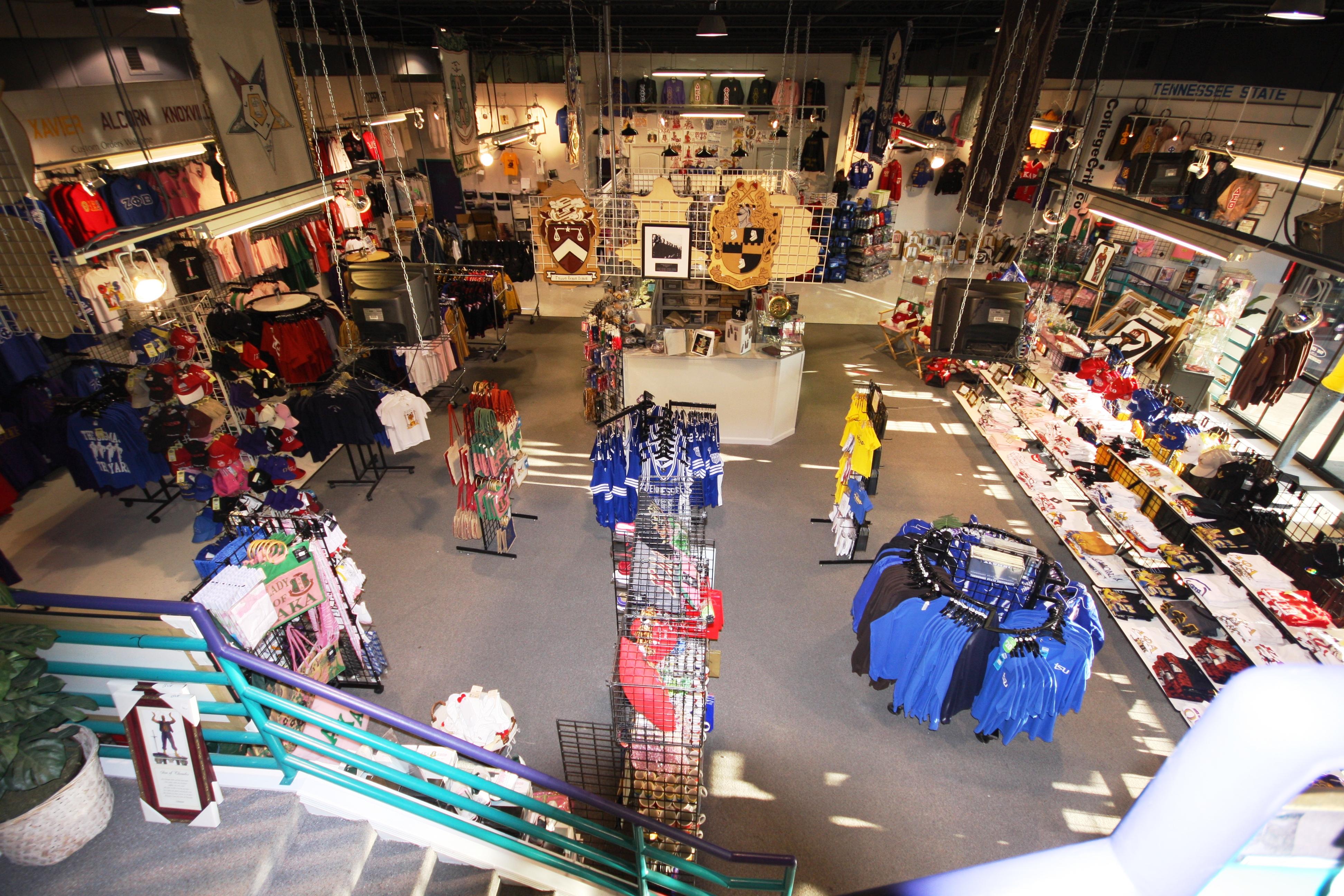 The College Crib T Shirt Shop 2719d Jefferson St