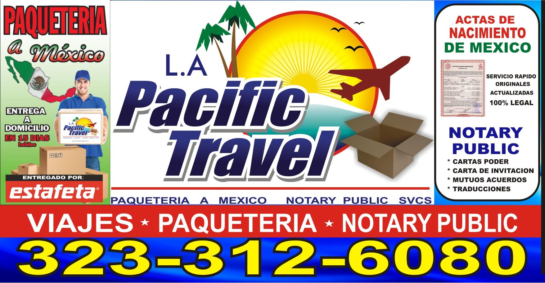LA PACIFIC TRAVEL 2513 1/2 E Gage Ave, Huntington Park, CA 90255 ...