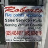 Roberts Five Points Appliance