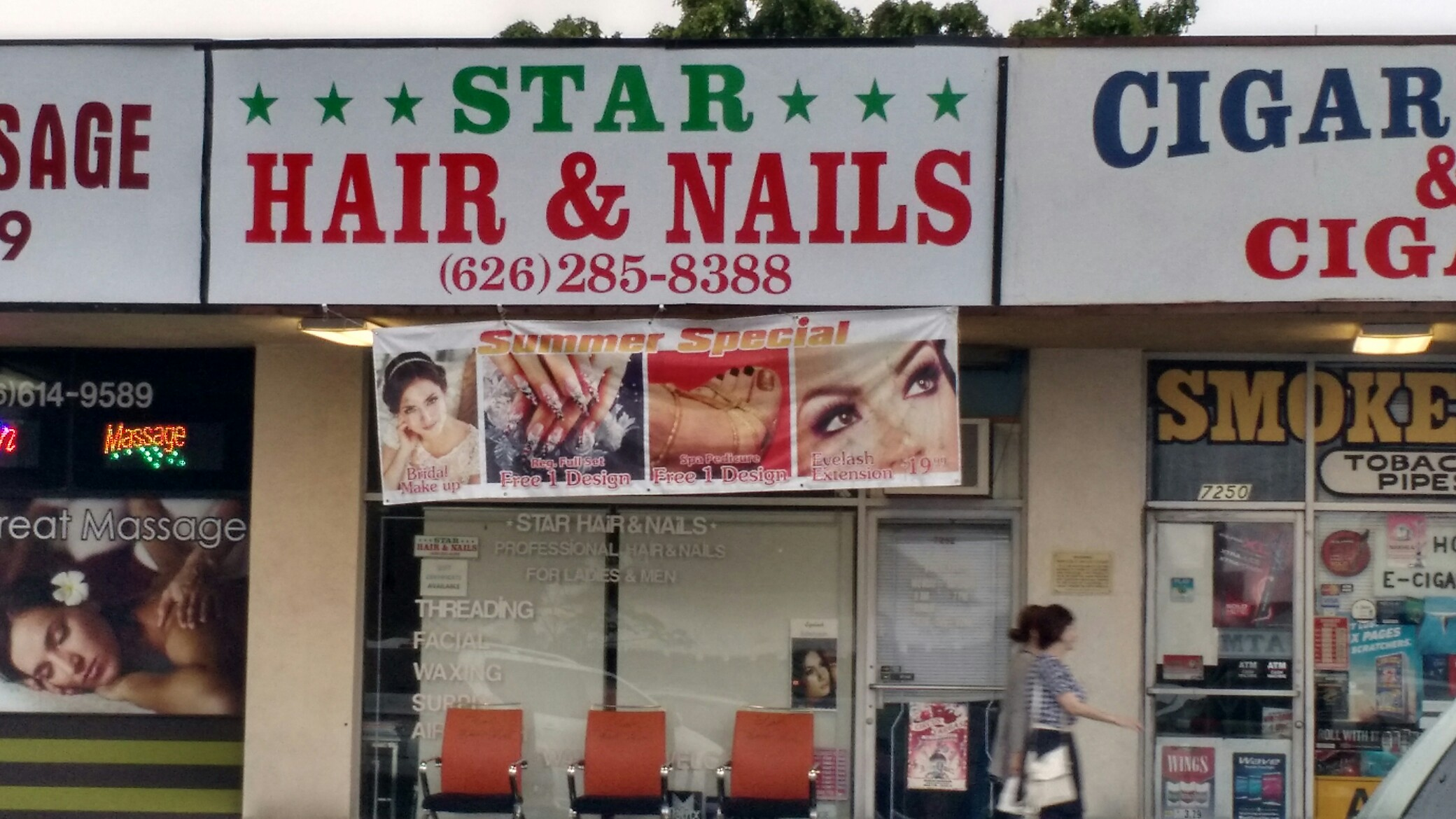 Star Hair & Nails 7252 Rosemead Blvd, San Gabriel, CA 91775