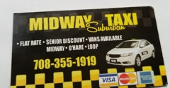 Midway Suburban Taxi Cab LLC - Chicago, IL. Now serving Garfield ridge