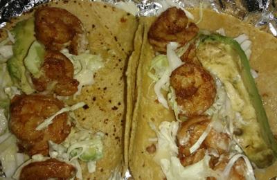 El Pollo Loco - San Antonio, TX. Baja shrimp & avocado tacos. Delicious!