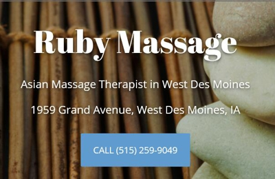 Ruby Massage - West Des Moines, IA