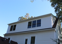 Talon Construction - Frederick, MD. Outside view of attic addition project by Talon Construction in Leesburg, VA 20175