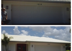 Allied Roof Cleaning - Fort Myers, FL. These people didn't even know the color of their roof