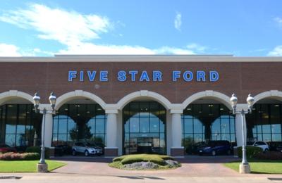 Five Star Ford 6618 Ne Loop 820 North Richland Hills Tx 76180 Yp Com