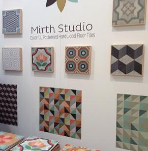 Mirth Studio Patterned Wood Floor Tiles