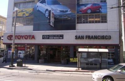 Toyota San Francisco >> San Francisco Toyota 4099 Geary Blvd San Francisco Ca 94118 Yp Com