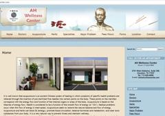 Grace Computer & Internet Corp. - Houston, TX. Grace Computer web design for AH Wellness Center