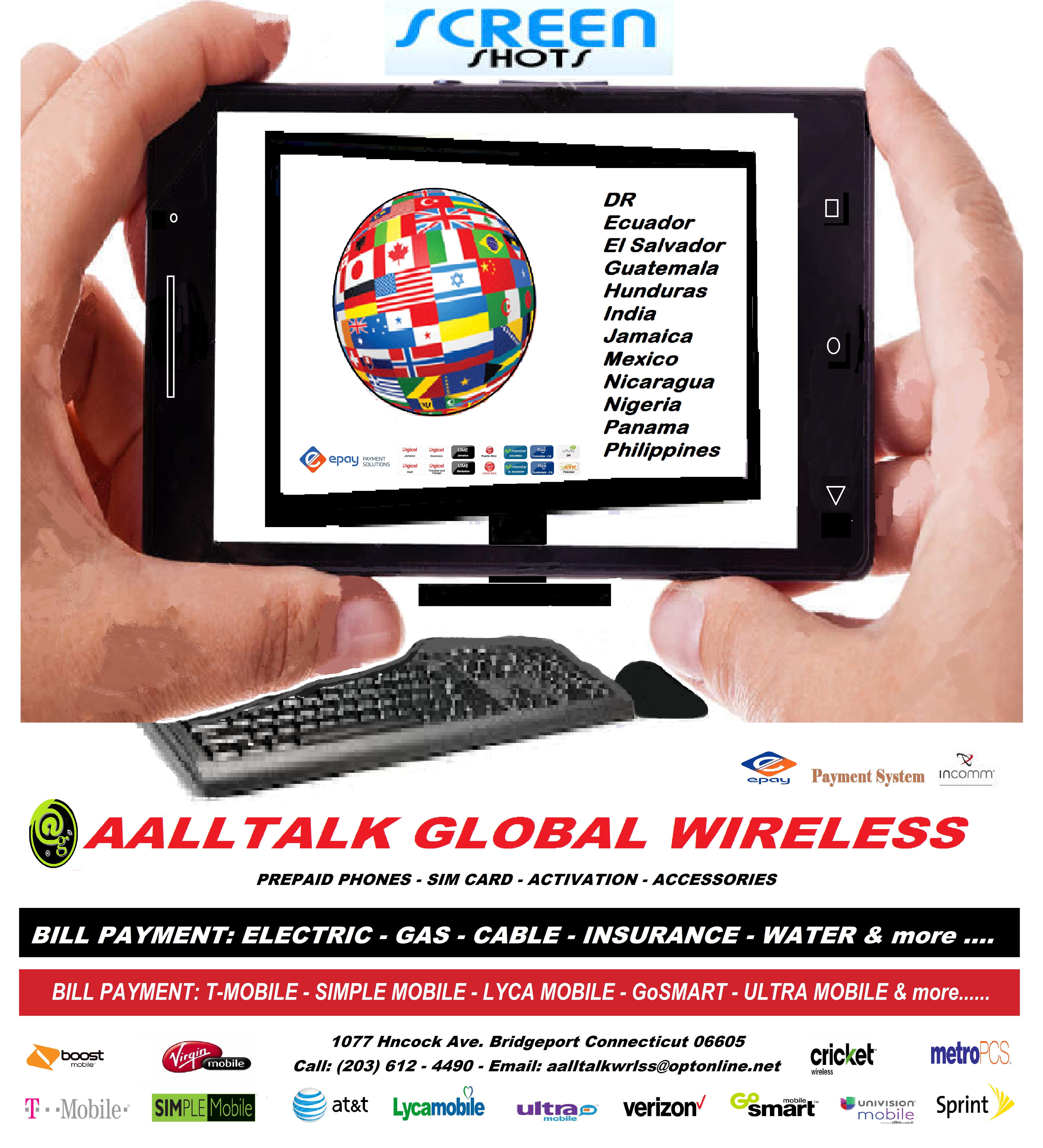 aalltalk global wireless 1077 Hancock Ave, Bridgeport, CT