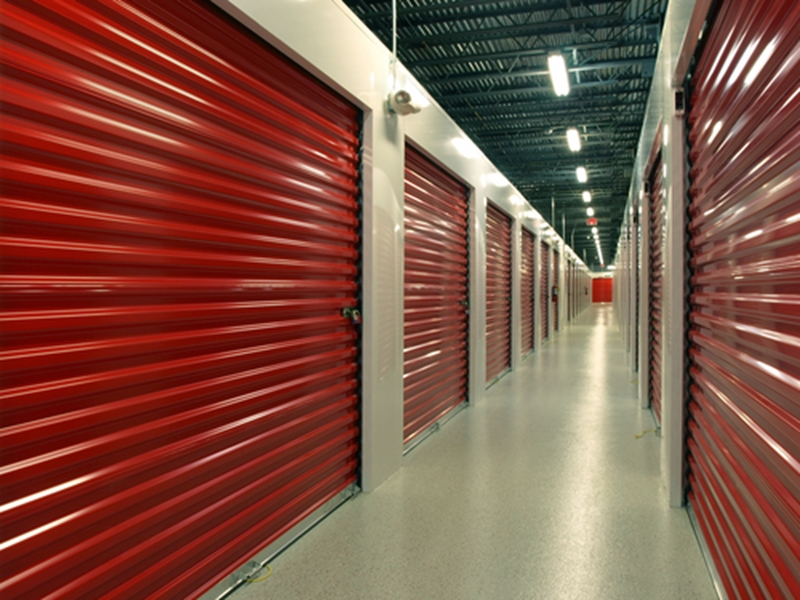 People can use self-storage to organize their belongings and declutter their homes.