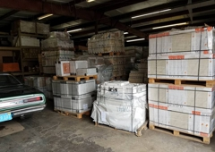 K&S Wholesale Tile - Clearwater, FL. Come & see our MASSIVE new warehouse space & tile yard. Our new tile wholesale warehouse space allows us to triple the in-stock tile & stone