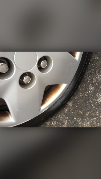 Jeff's Detailing Center - Howard Beach, NY. Dirty tires - although I paid extra to have them cleaned & wax
