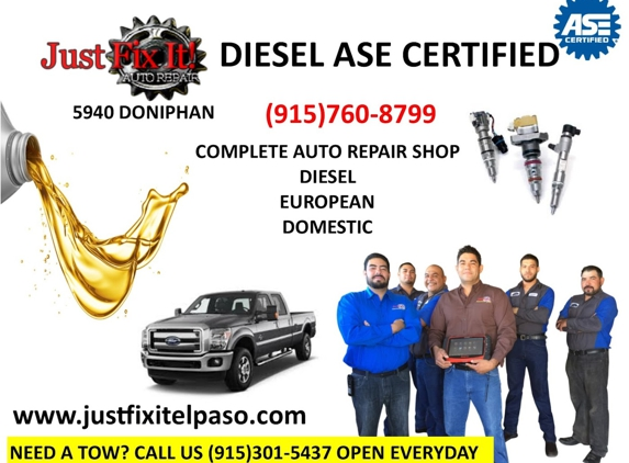 Just Fix It LLC - El Paso, TX