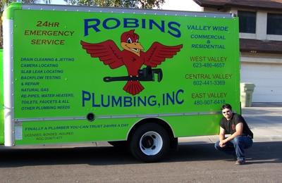 Robins Plumbing Inc - Glendale, AZ