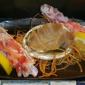 Asahi Japanese Steakhouse & Sushi Bar - Greensboro, NC. Wow fresh abalone and King crab sashimi.  Delicious!!!!