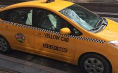 Yellow Checker Cab