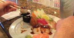 Ru Sans Edgewood - Atlanta, GA. Delicious assortment from the $1 sushi menu