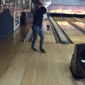 Fireside Lanes - Citrus Heights, CA. Allie going for the strike!