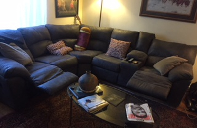 Wertz Brothers Furniture Inc - Los Angeles, CA. Reclines at both ends..paid 1,600.00. like new 18 months old