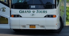 Grand Tours - Lockport, NY. The Grand Tours bus.