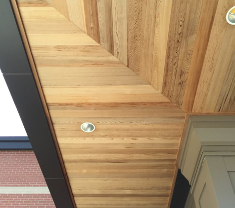 Taylor Forest Products Incorporated - Pembroke, MA. Western Red Cedar T and G Soffits - 3 years old - Taylor Forest Products Massachusetts