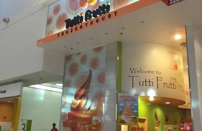 Tutti Frutti Frozen Yogurt - Culver City, CA. Mall sign